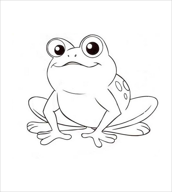 Cute Frog Clipart Black And White (103+ images in Collection) Page 2.