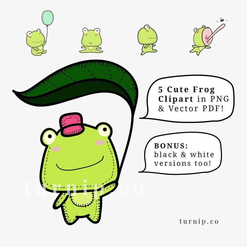 Frog Clipart Black and White, Frog Cartoon Images, Frog PNG, Toad Clip Art,  Commercial Use Clipart,Cute Frog Drawings Clip Art, Frog Outline.