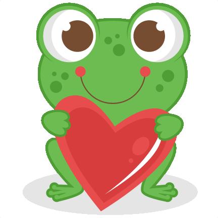 Cute Frog Clip Art.