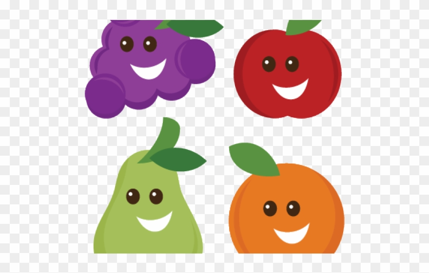 Grapes Clipart Cute.