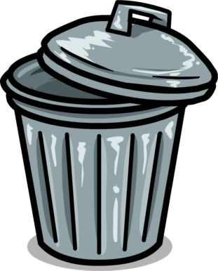 Trash Can Clipart 1866.