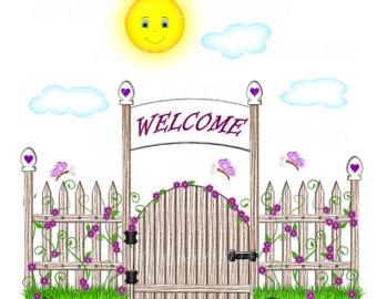 Clipart gate.