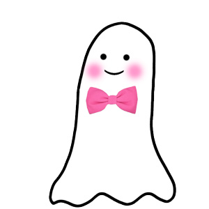Cute ghost clipart.