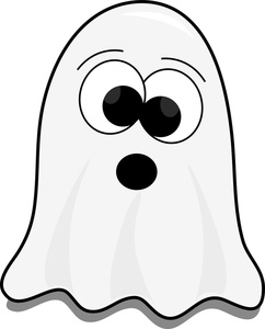 Cute Ghost Clipart For Kids.
