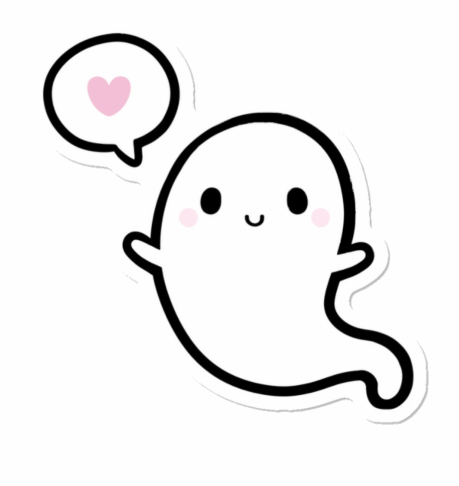 Ghost Cartoon Png Cute Ghost Clipart.