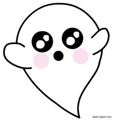 Super cute ghost clip art free.