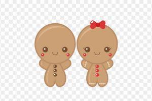Cute gingerbread clipart » Clipart Portal.