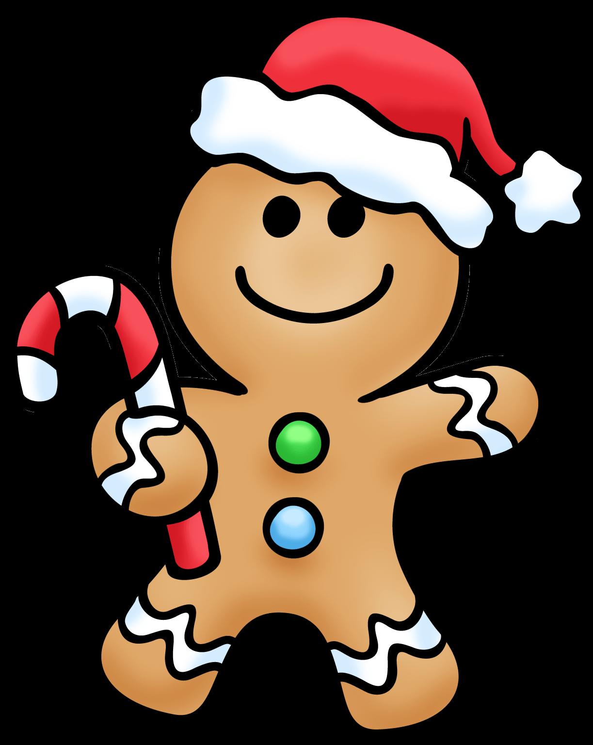 Cute Gingerbread Cliparts.
