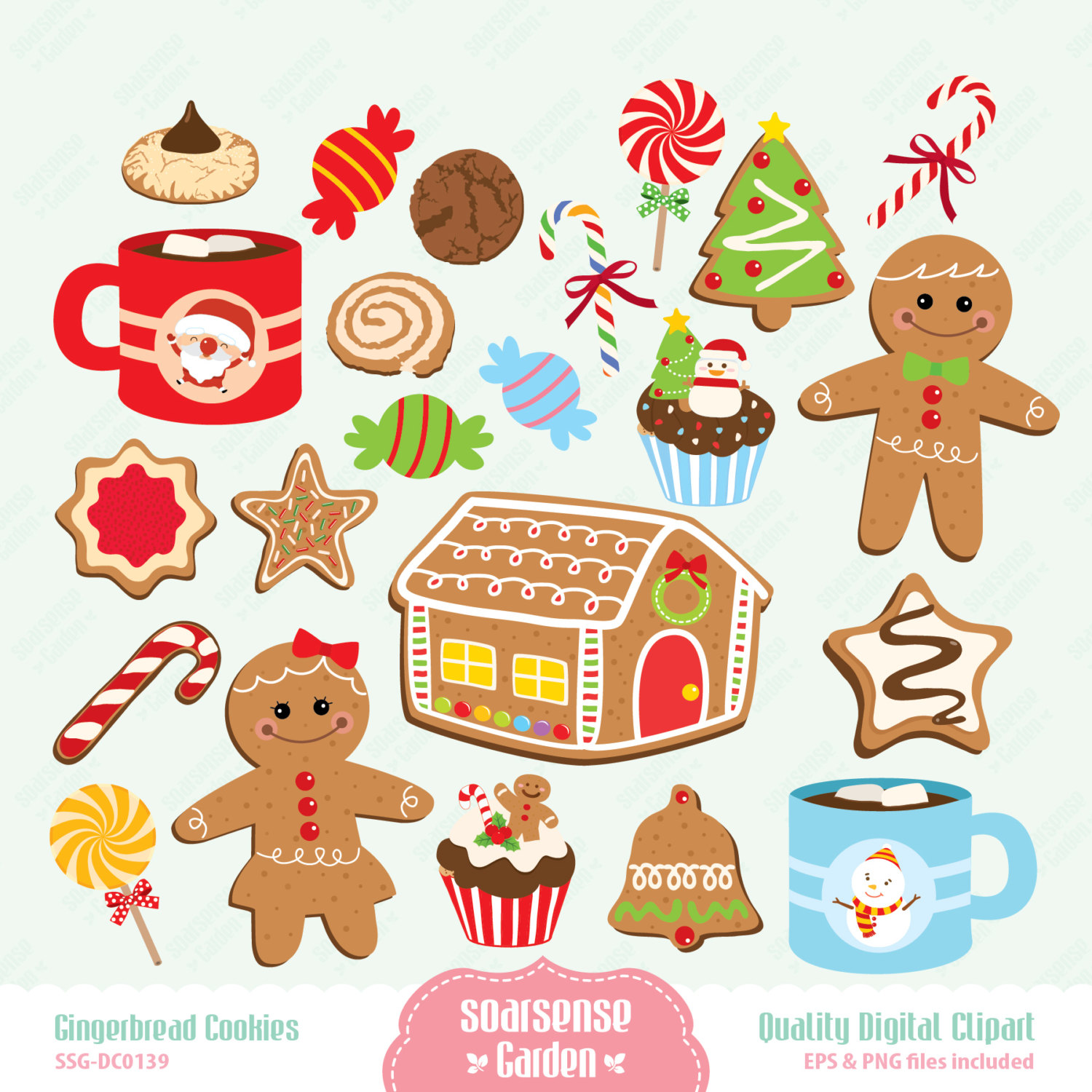 Free Vintage Gingerbread Cliparts, Download Free Clip Art, Free Clip.