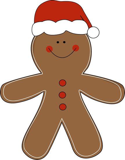 Gingerbread Boy Clipart.