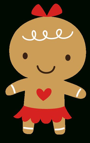 Cute Gingerbread Clipart.