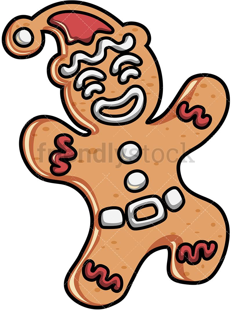 A Cute Gingerbread Man.