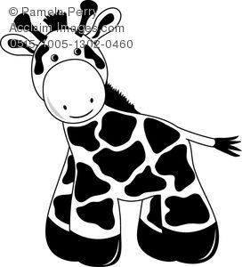 Showing post & media for Cartoon giraffe clip art printable.