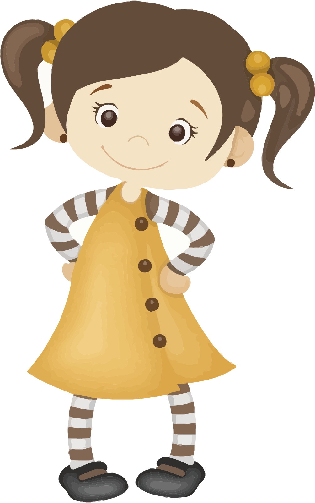 Cute Girl Clipart Free Picture Download.