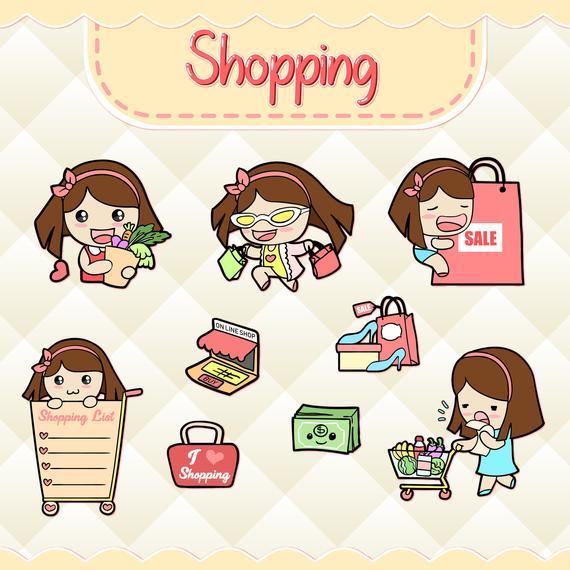 Shopping Clipart.