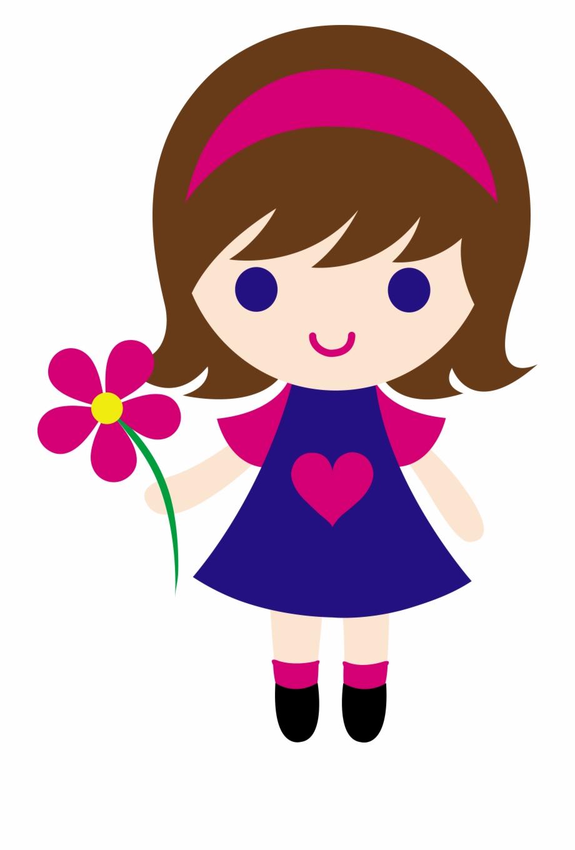 Cute Girl Clipart Clip Art.