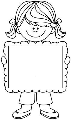Cute Frame Clipart Black And White.