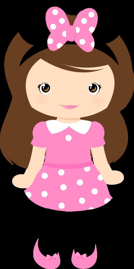 Cute Girl Clipart.