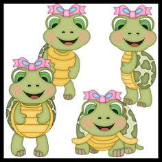 Cartoon Turtle.