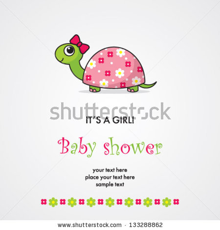 Girl Turtle Stock Images, Royalty.