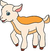 Free Baby Goat Clipart and Vector Graphics.