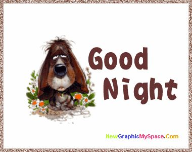Good Night Funny Clipart.