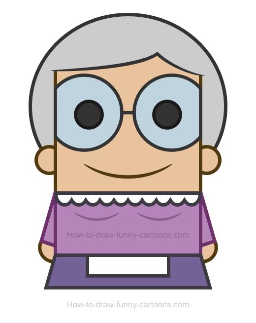 Grandma Clipart.