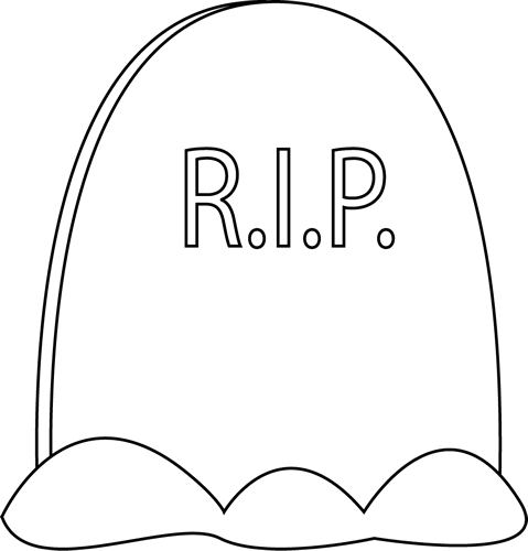 tombstone clipart black and white clipground