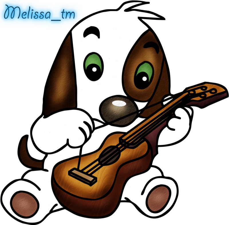 Guitar Clipart Cute.