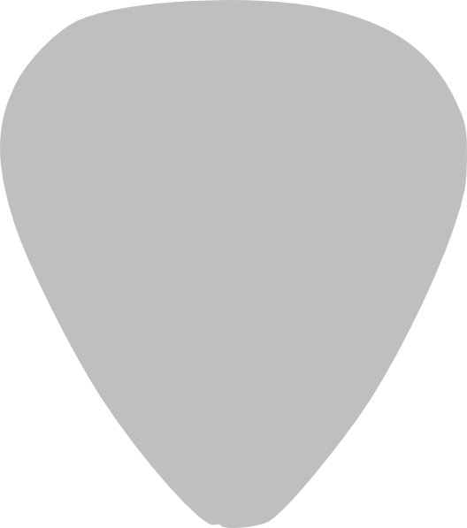 Clipart Guitar Pick.