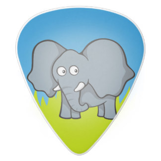 Cute Guitar Pick Clipart.