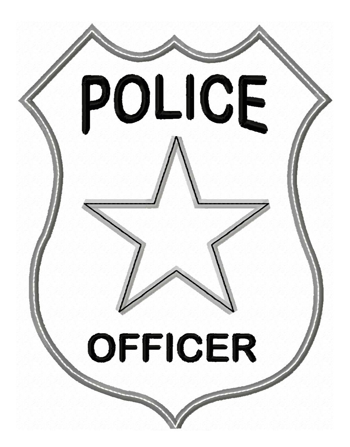 Police Badges Clipart.