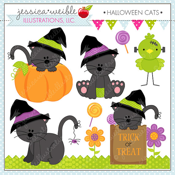 Halloween Cats.