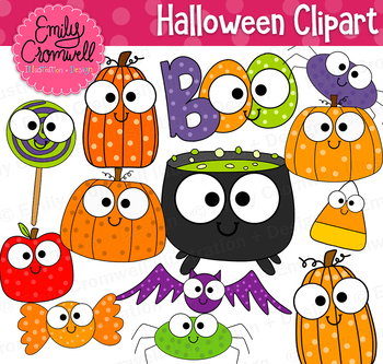 Halloween Clipart, Cute Halloween Graphics.