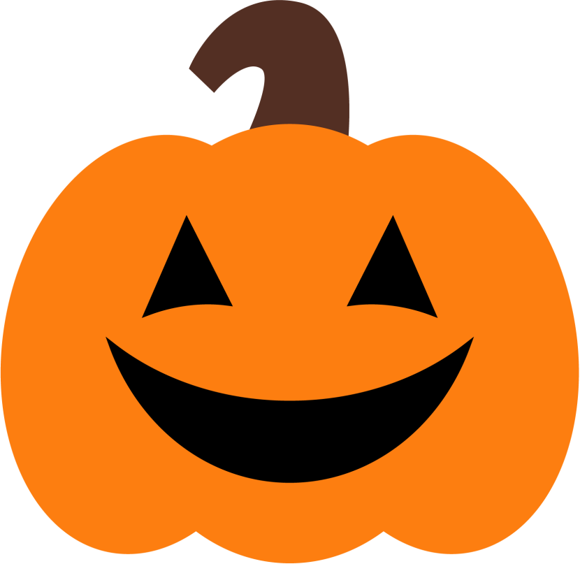 Cute Pumpkin Kids Clipart.
