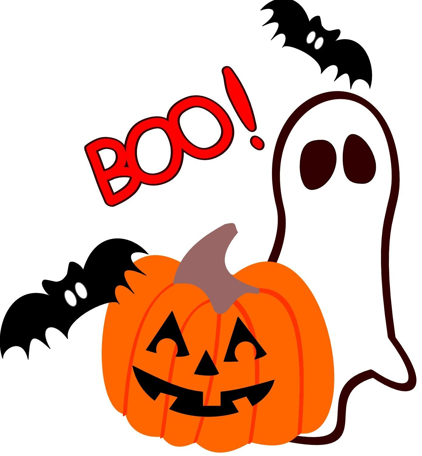 School Halloween Costume Parade Clipart.