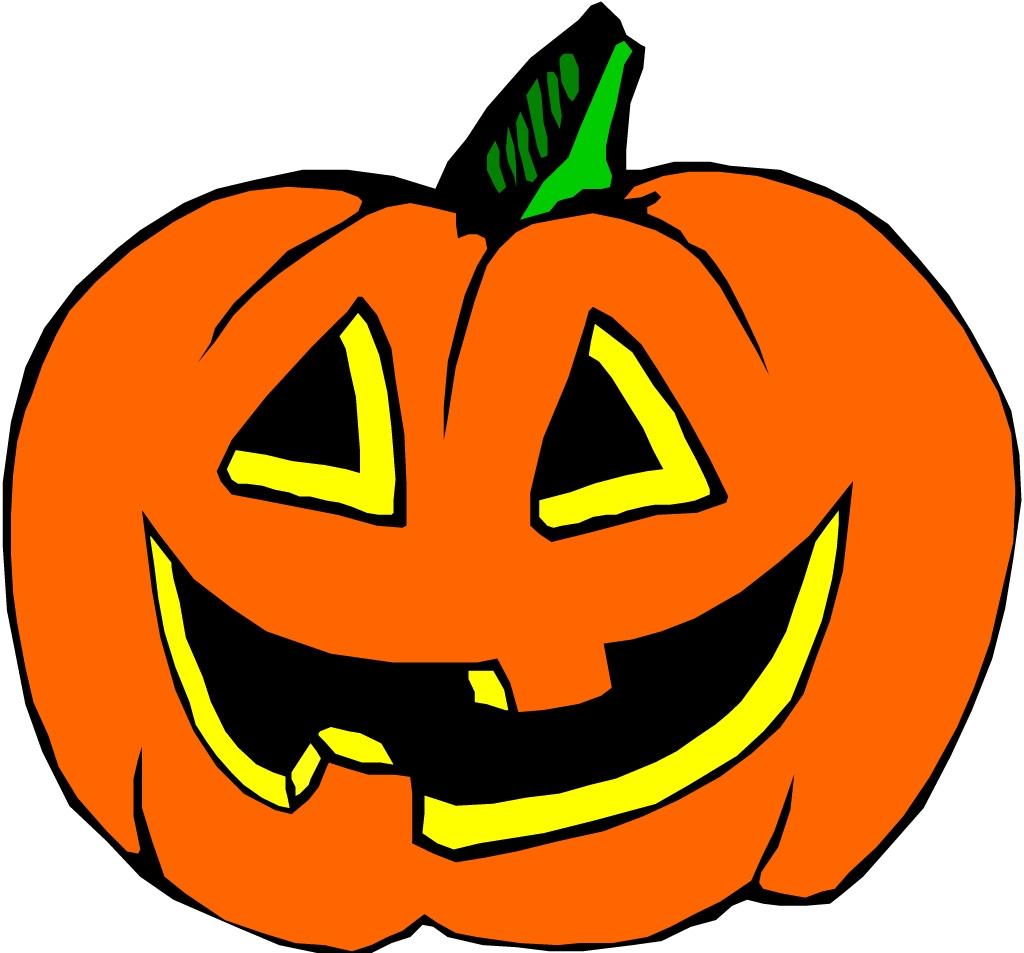 Cute Halloween Pumpkins Clipart.