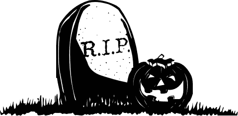 Cute halloween tombstone clipart.