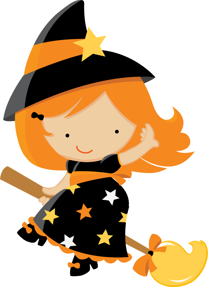 cute halloween witch clipart - Clipground