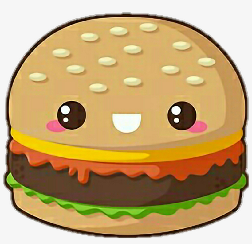 Hamburger Sticker.
