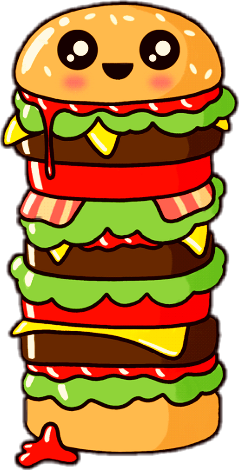 Cute Food Gif Transparent Clipart , Png Download.