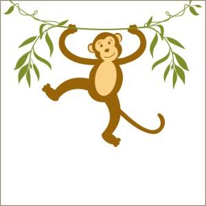 Hanging Monkey Template.