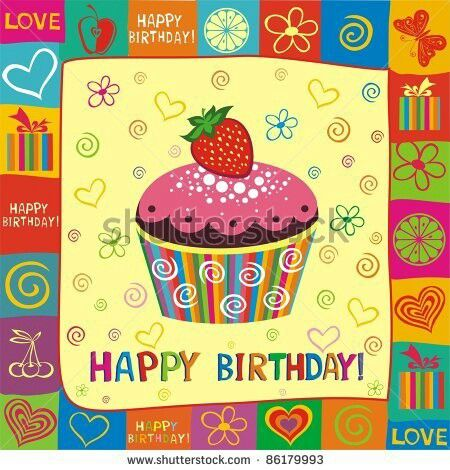Cute Happy Birthday Clipart Pinterest.