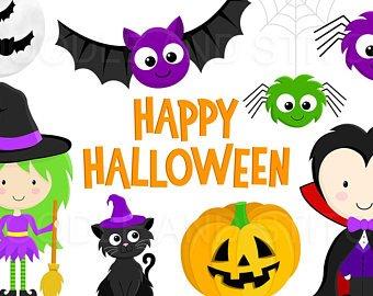 happy halloween clipart.