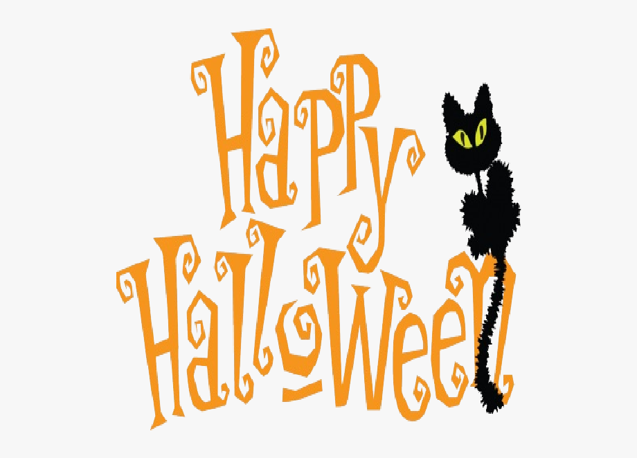 Cute Happy Halloween Clipart.