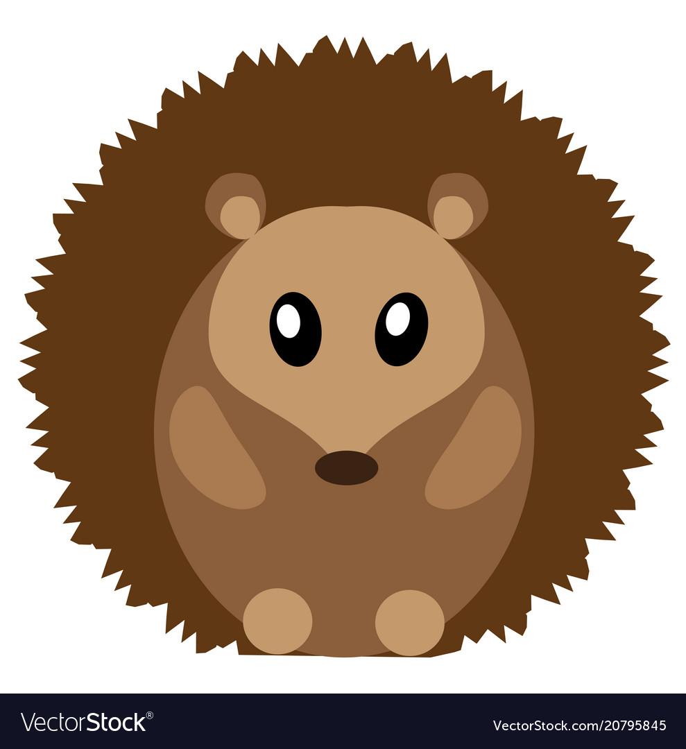 Cute hedgehog.