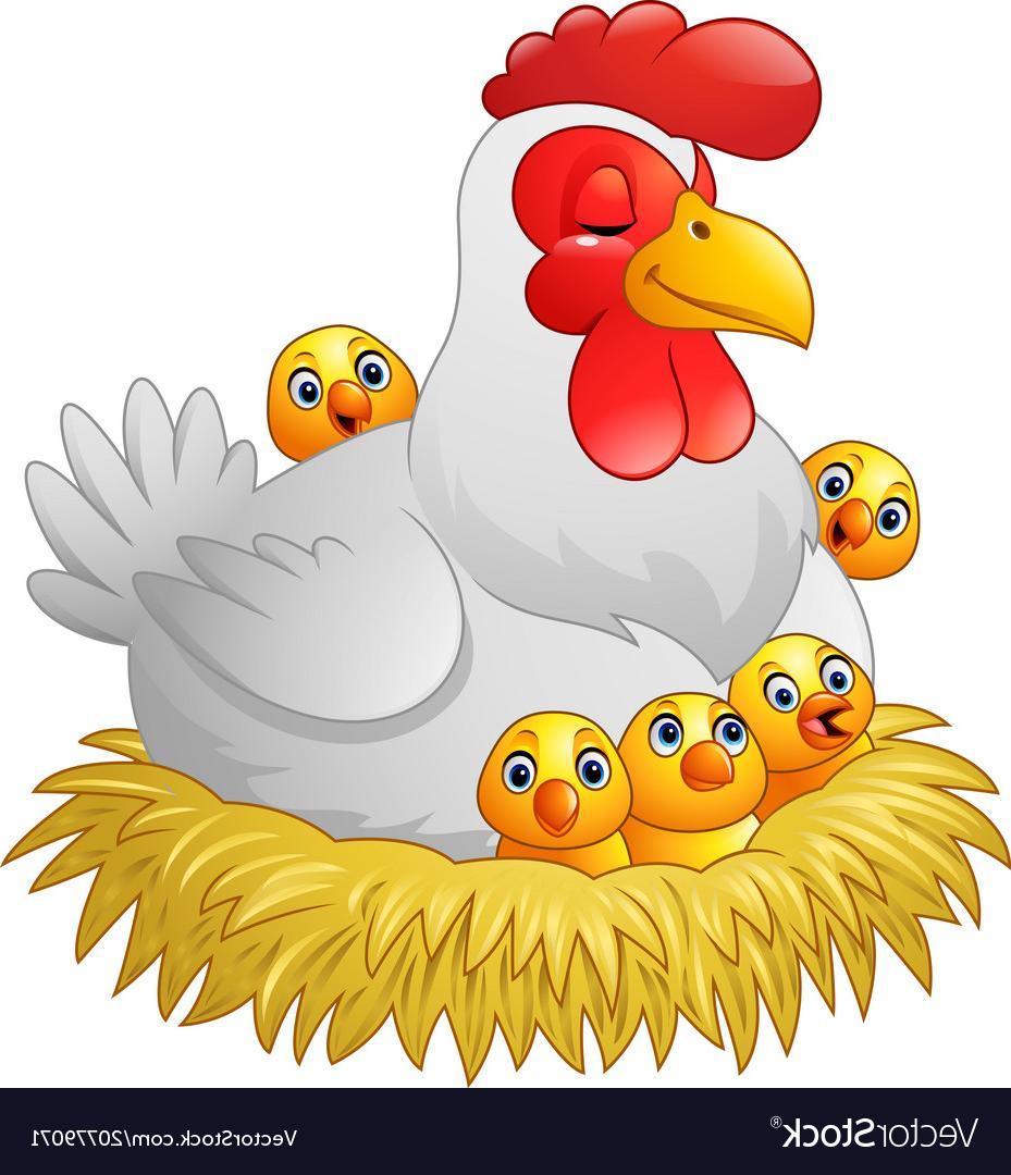 Top Cute Hen Clipart Vector Cdr » Free Vector Art, Images.
