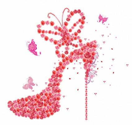 Cute high heel clipart 2.