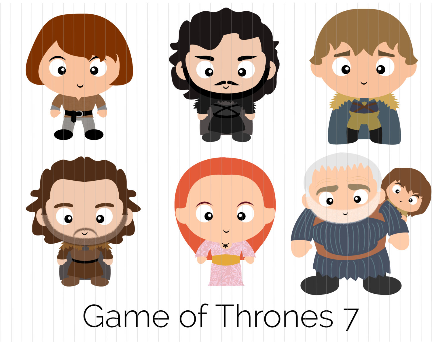 Cute Funko Pop Game of Thrones Clipart Daario Naharis.