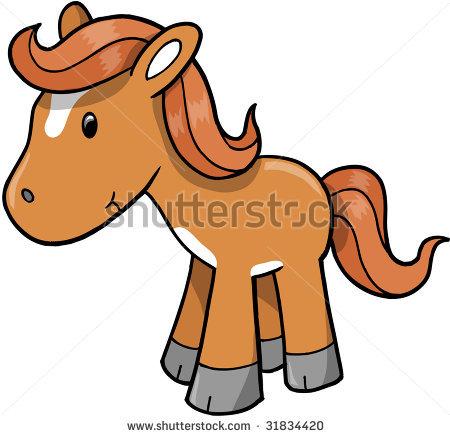 Cute Horse Clipart.